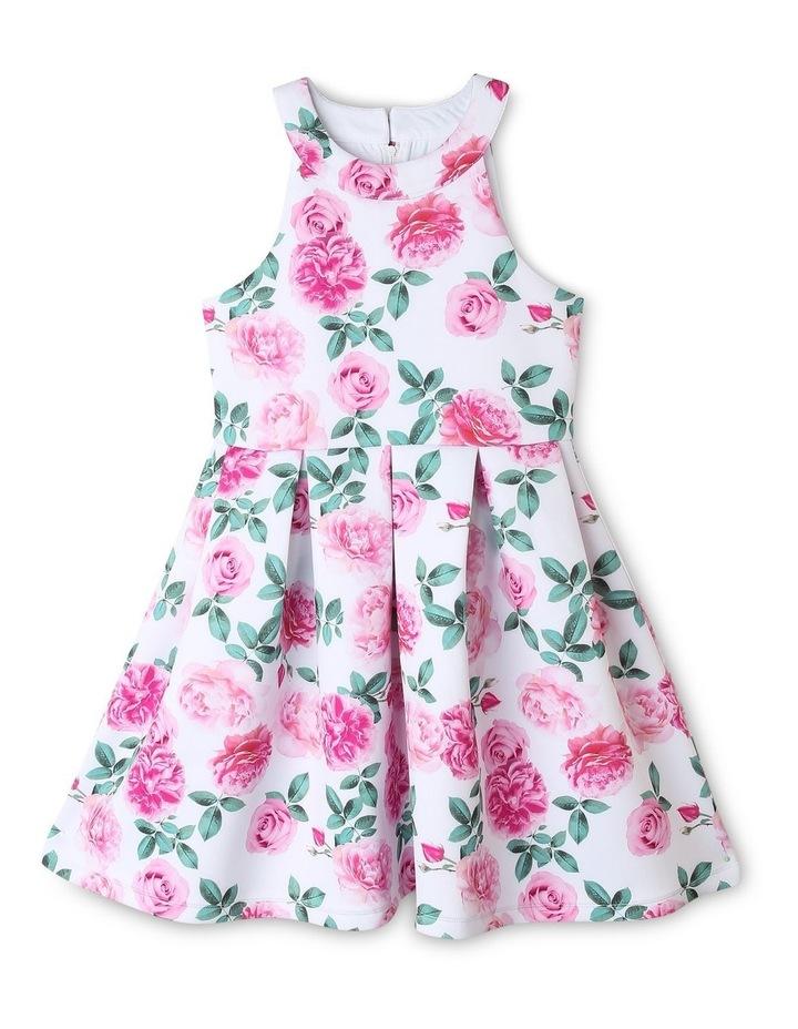Violet Scuba Dress (9-16 Years) image 1