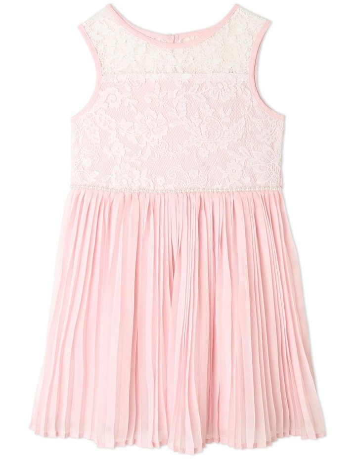 Nova Chiffon Shift Dress (1-8 Years) image 1