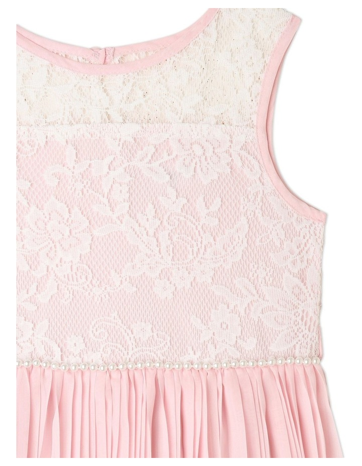 Nova Chiffon Shift Dress (1-8 Years) image 2