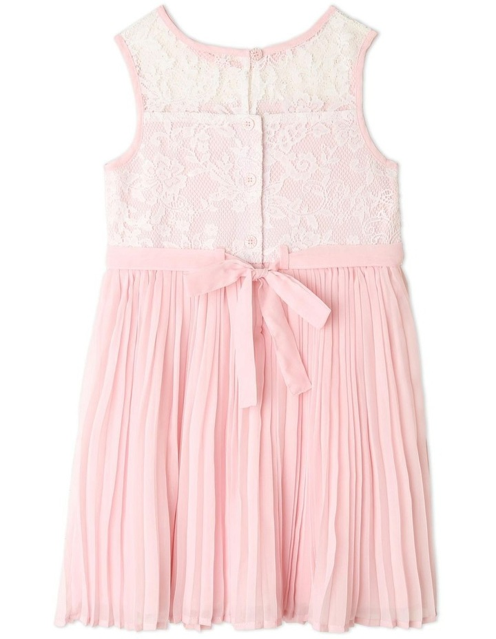 Nova Chiffon Shift Dress (1-8 Years) image 3