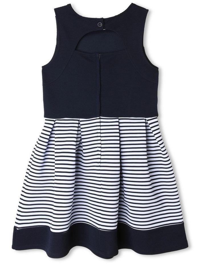Chloe Ottoman Stripe Party Dress (9-16 Years) image 2