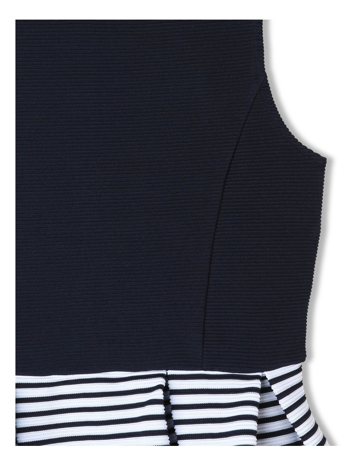 Chloe Ottoman Stripe Party Dress (9-16 Years) image 3
