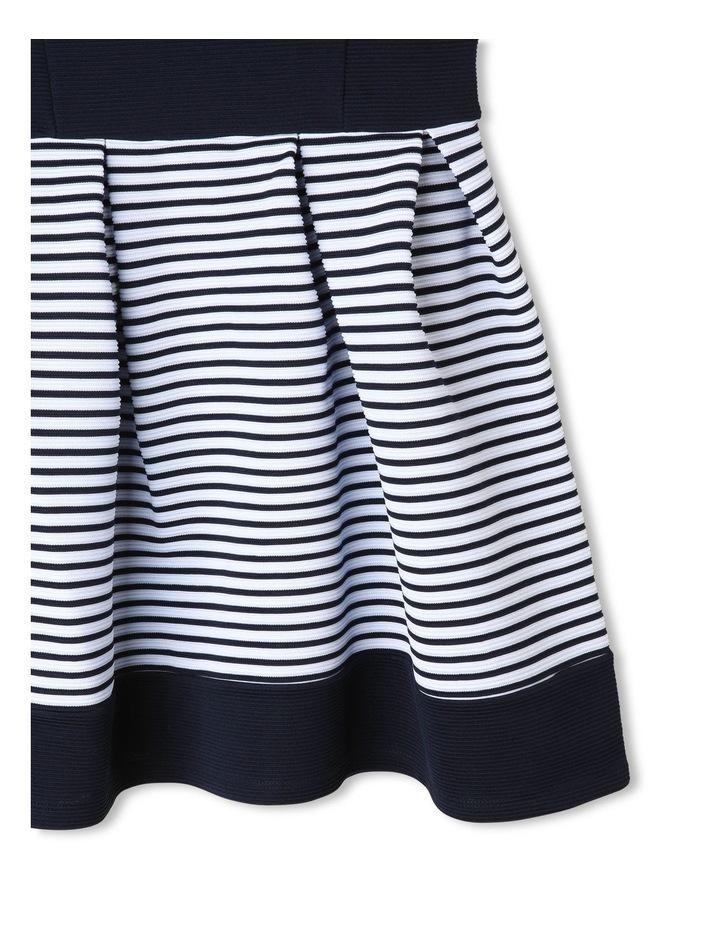 Chloe Ottoman Stripe Party Dress (9-16 Years) image 4