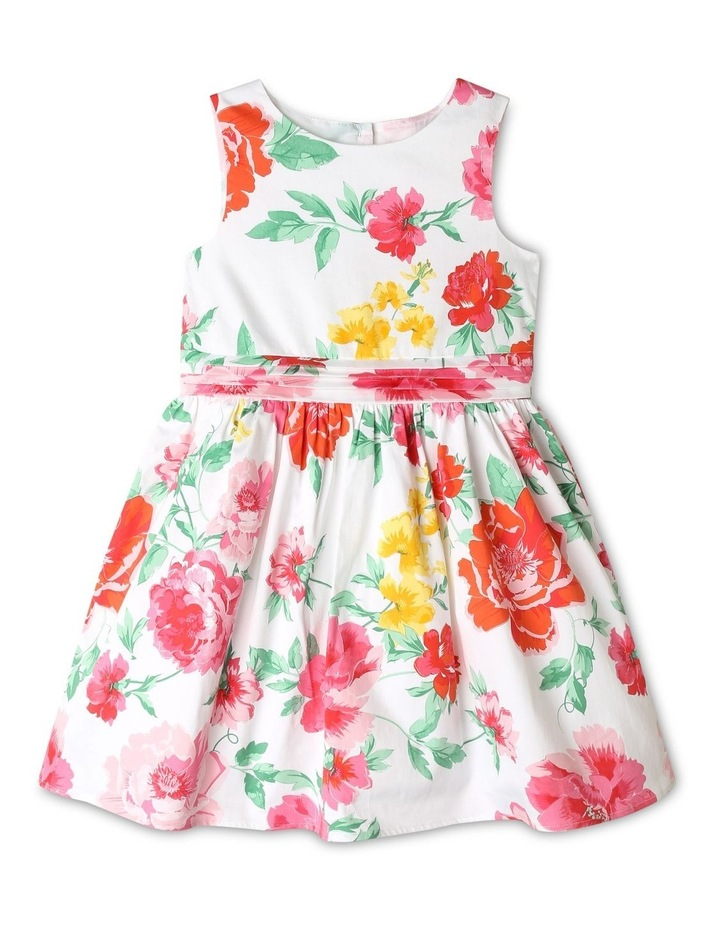 Pippa Floral Sateen Dress (1-8 Years) image 1