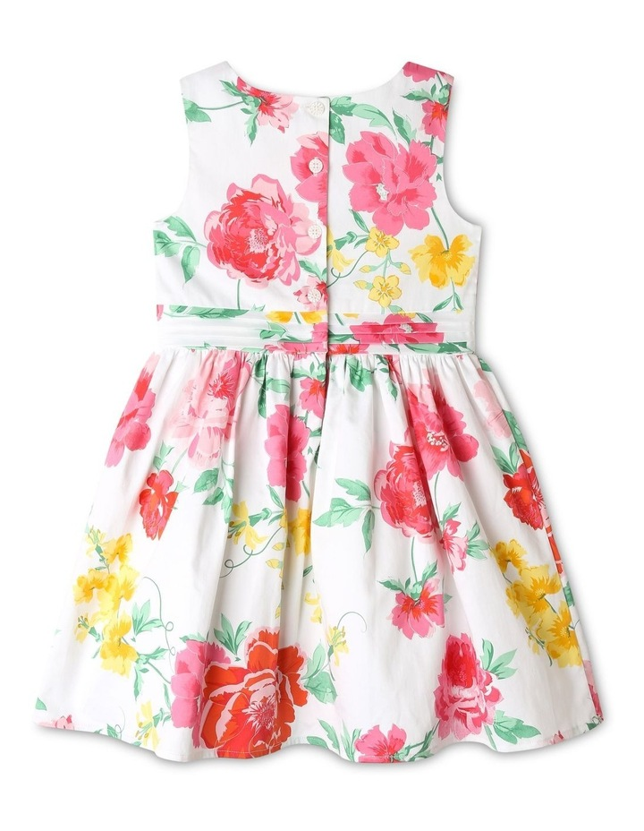 Pippa Floral Sateen Dress (1-8 Years) image 3