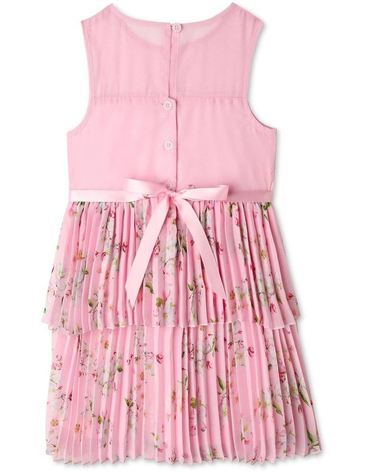 Eliza Pleated Chiffon Dress (1-8 Years) image 2