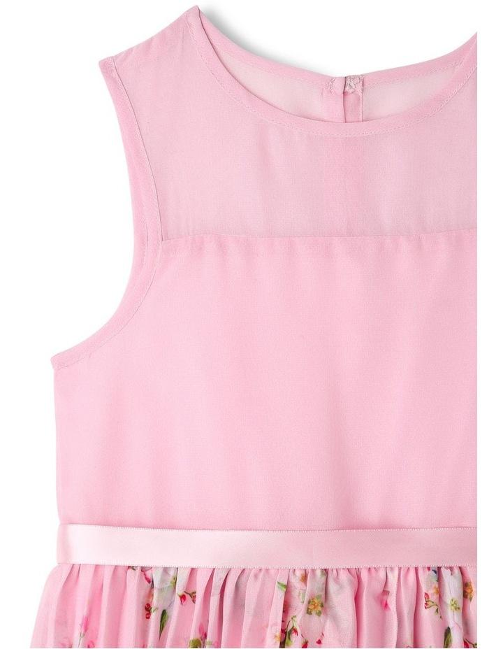 Eliza Pleated Chiffon Dress (1-8 Years) image 3