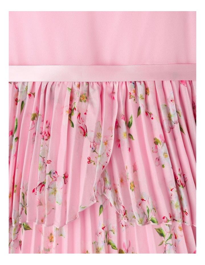 Eliza Pleated Chiffon Dress (1-8 Years) image 4