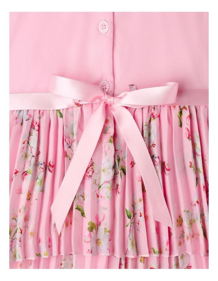 Eliza Pleated Chiffon Dress (1-8 Years) image 5