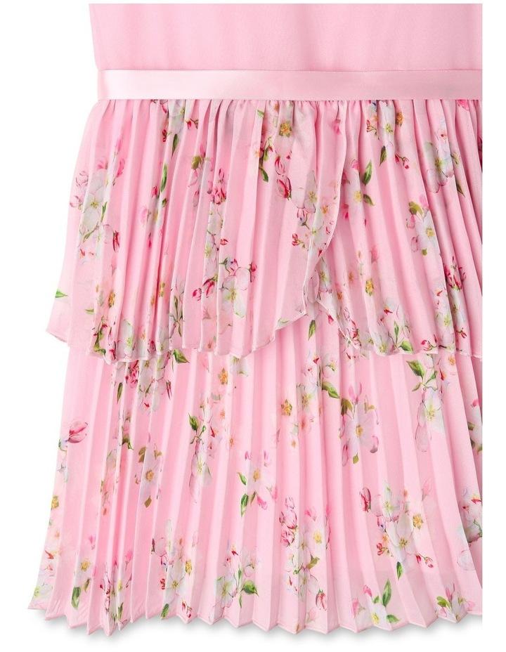 Eliza Pleated Chiffon Dress (1-8 Years) image 7