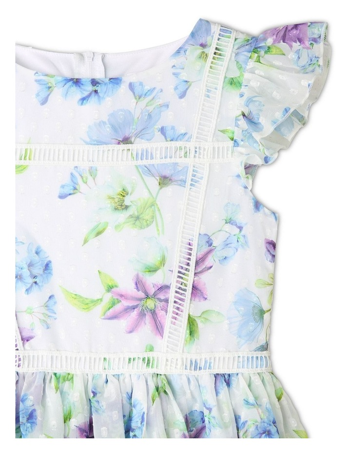 Rosie Chiffon Floral Dress (9-16 Years) image 2