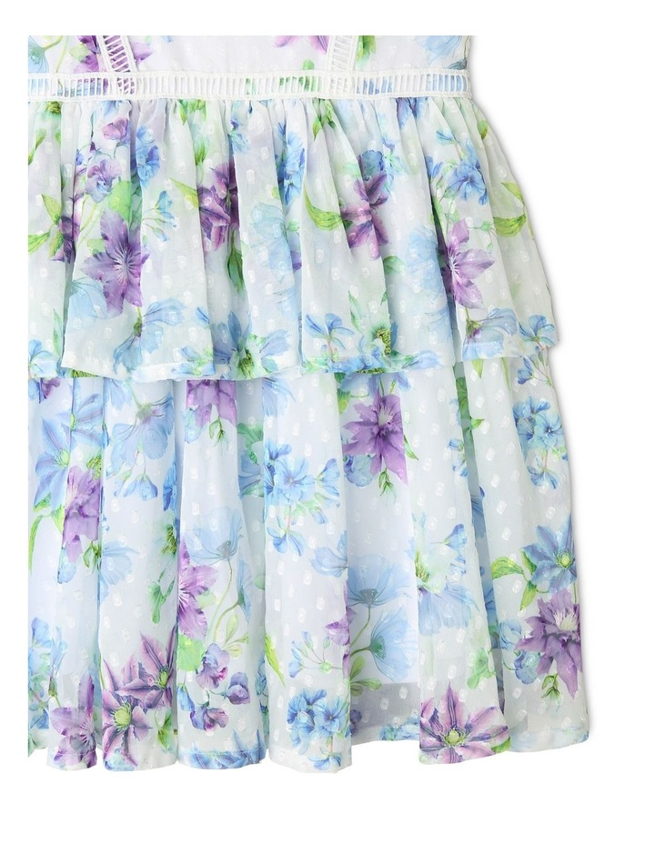 Rosie Chiffon Floral Dress (9-16 Years) image 3