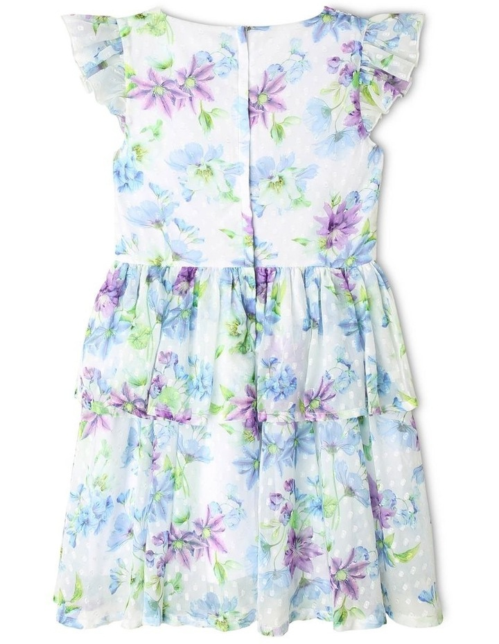 Rosie Chiffon Floral Dress (9-16 Years) image 4