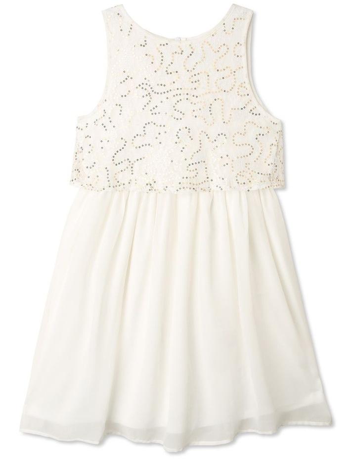 Gigi Chiffon Sequin Dress (9-16 Years) image 1