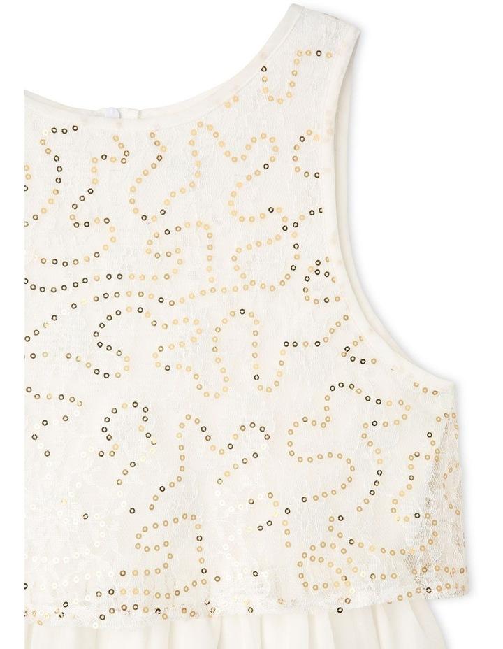 Gigi Chiffon Sequin Dress (9-16 Years) image 3