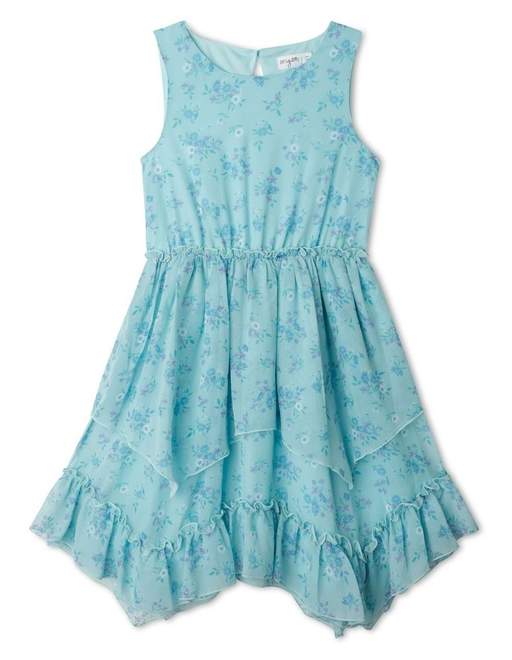 Courtney Tiered Midi Dress (9-16 Years) image 1
