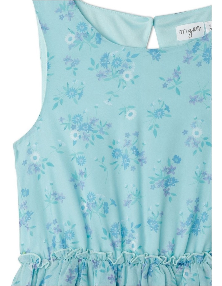 Courtney Tiered Midi Dress (9-16 Years) image 3