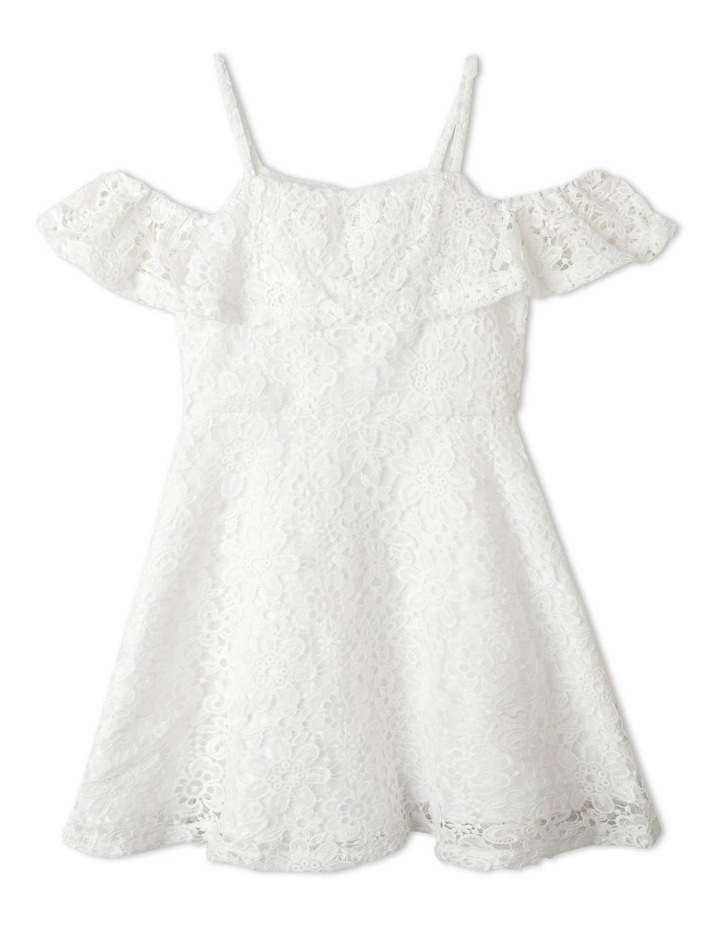 Adrienne Cold Shoulder Dress (9-16 Years) image 1