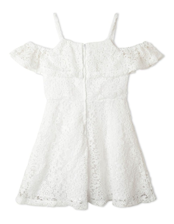 Adrienne Cold Shoulder Dress (9-16 Years) image 3