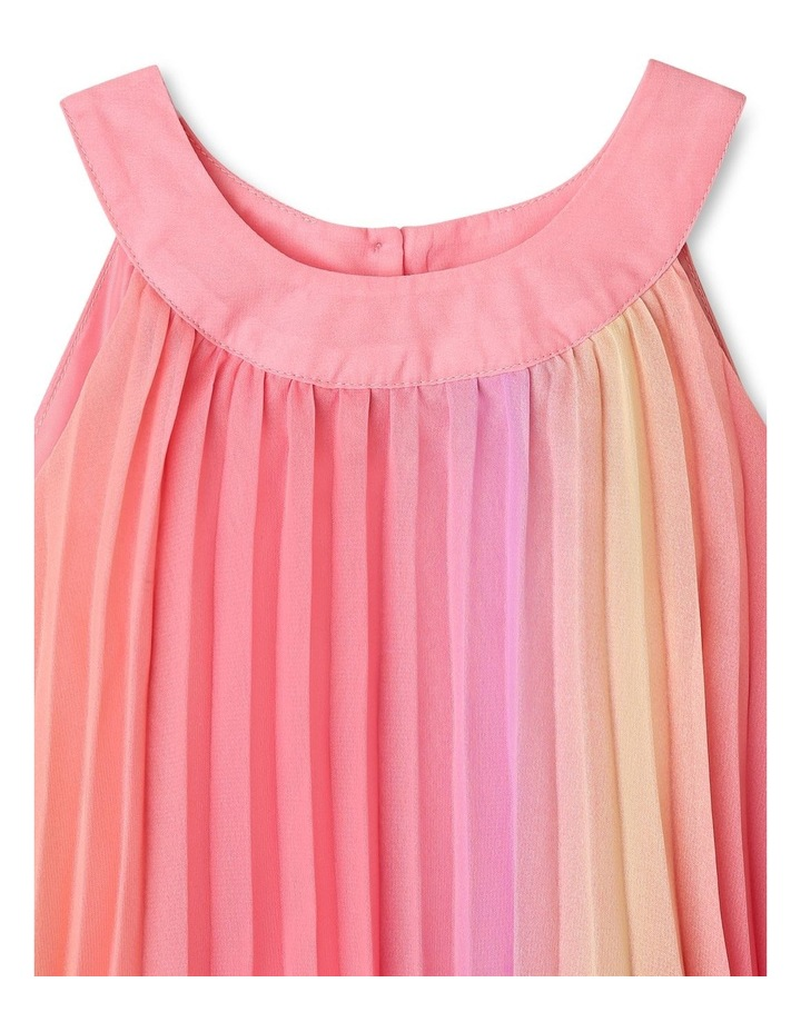 Charlie High Neck Pleat Dress (9-16 Years) image 2