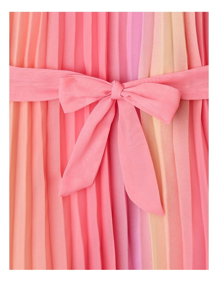 Charlie High Neck Pleat Dress (9-16 Years) image 3