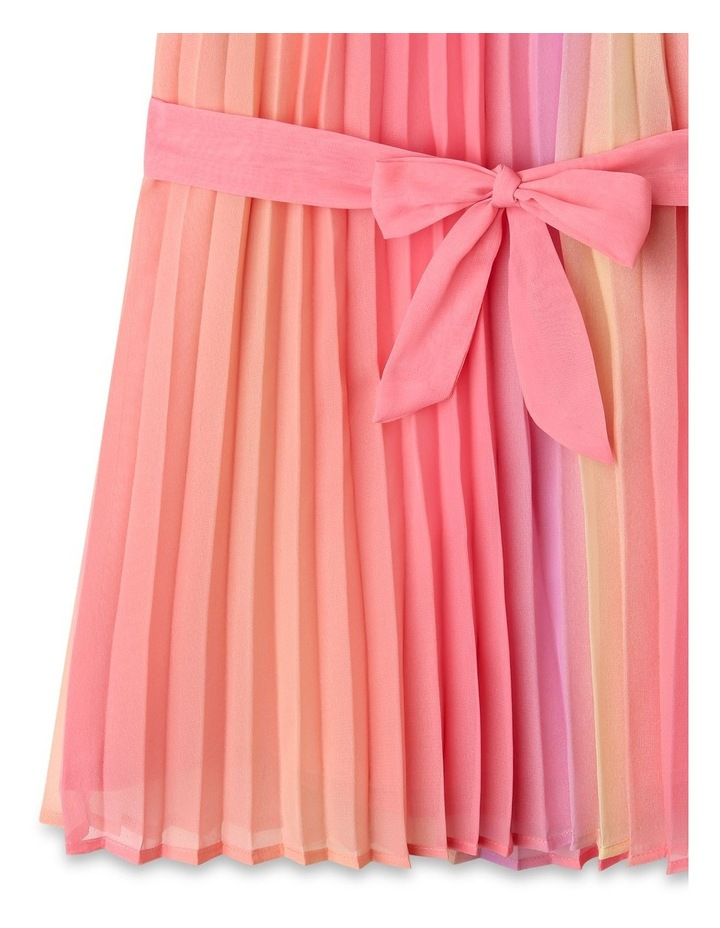 Charlie High Neck Pleat Dress (9-16 Years) image 4
