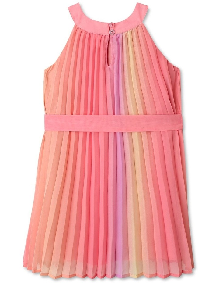 Charlie High Neck Pleat Dress (9-16 Years) image 5