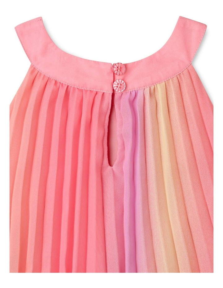 Charlie High Neck Pleat Dress (9-16 Years) image 6