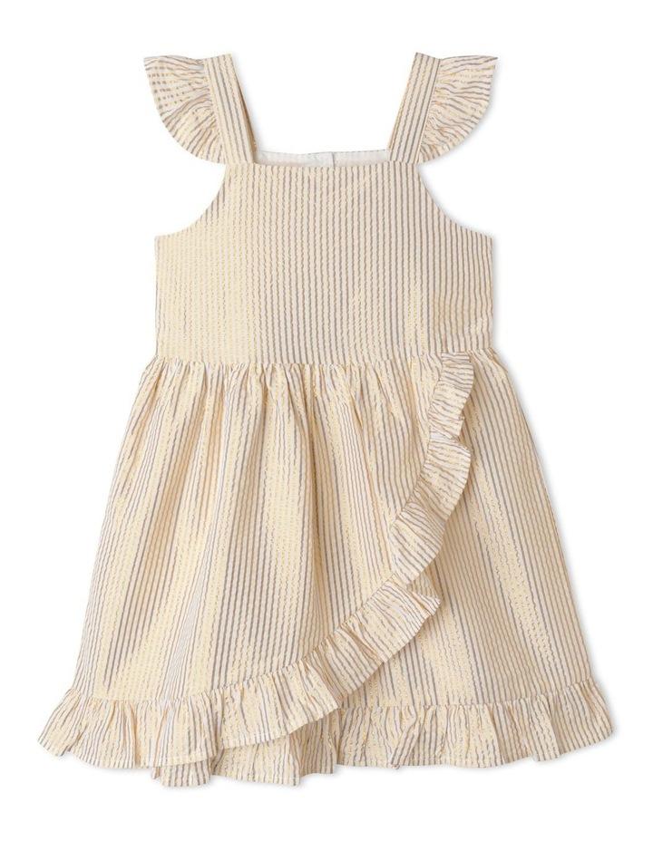 Isla Lurex Stripe Dress (1-8 Years) image 1