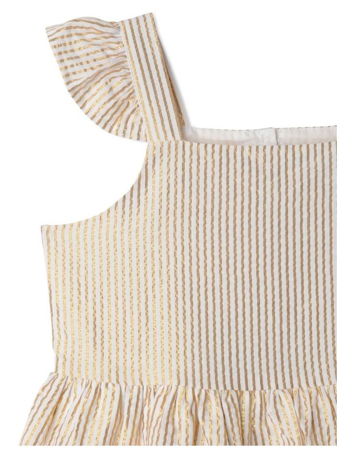Isla Lurex Stripe Dress (1-8 Years) image 2
