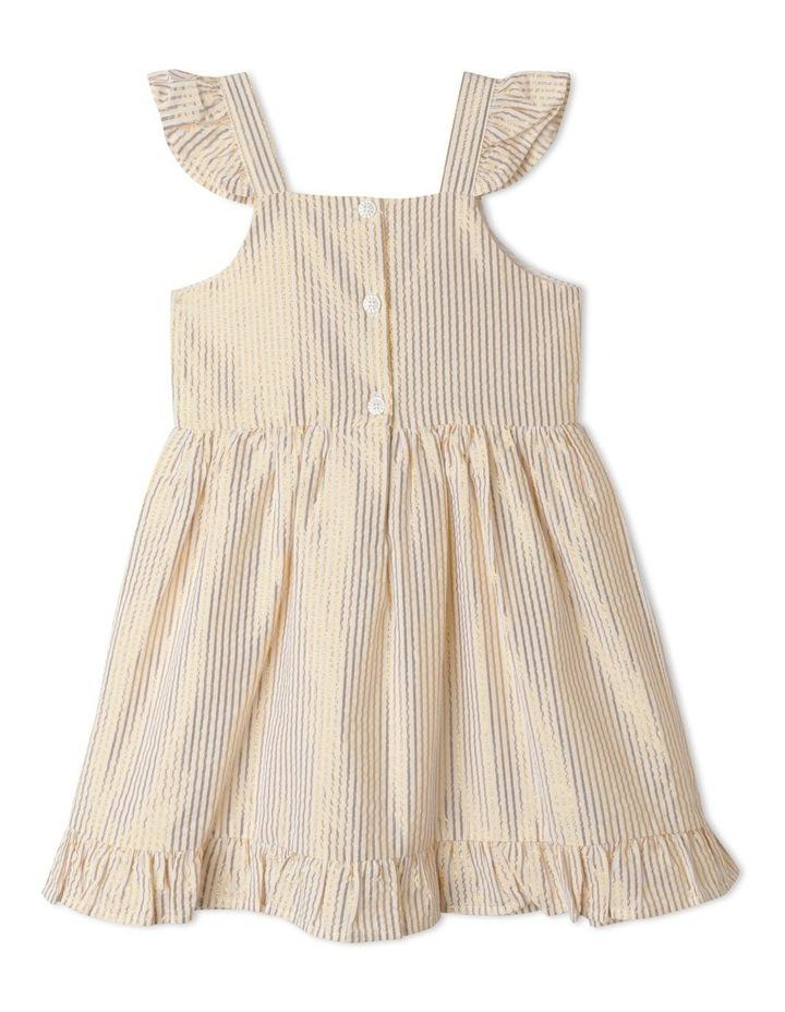 Isla Lurex Stripe Dress (1-8 Years) image 4