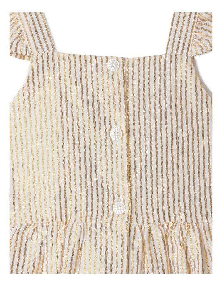 Isla Lurex Stripe Dress (1-8 Years) image 5