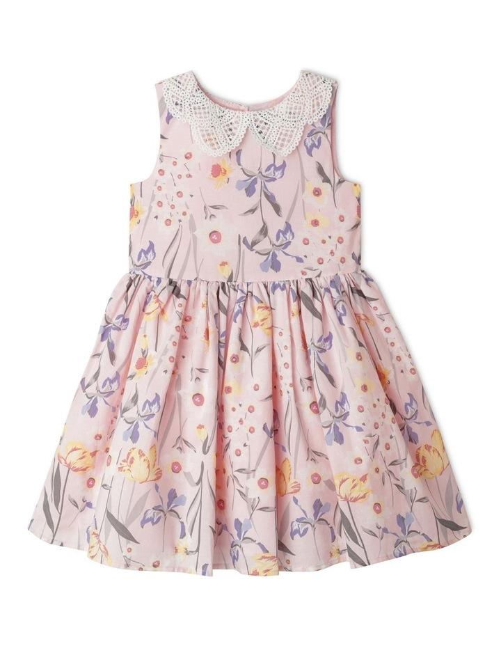Annabelle Peter Pan Collar Dress (1-8 Years) image 1