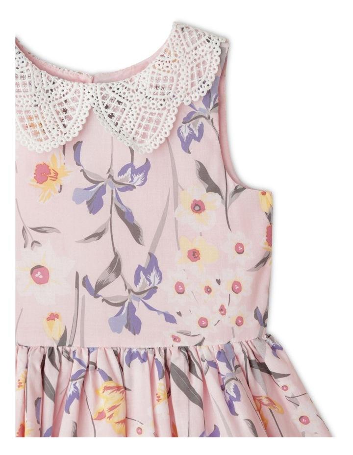 Annabelle Peter Pan Collar Dress (1-8 Years) image 3