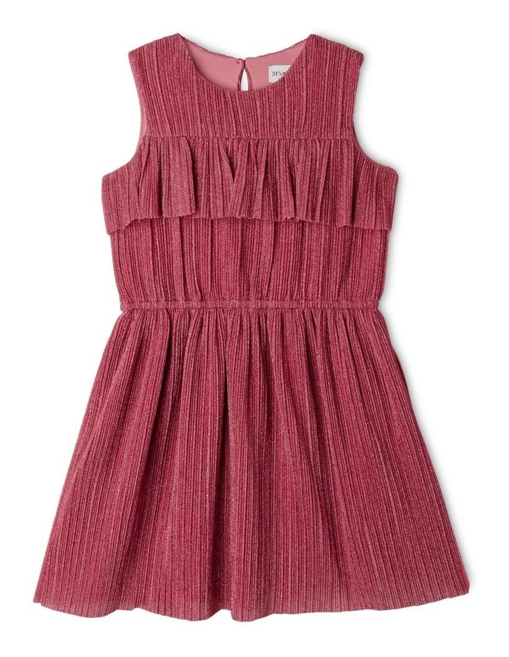 Jessie Pleated Chiffon Dress (1-8 Years) image 1