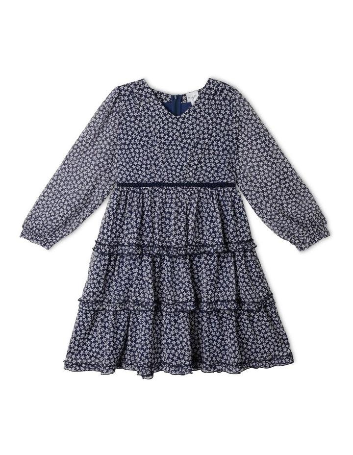 Bailey Crinkle Chiffon Dress (9-16 Years) image 1