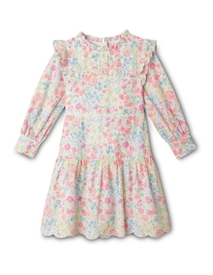 Adelaide Woven Brderie Dress (1-8 Years) image 1