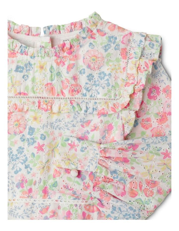 Adelaide Woven Brderie Dress (1-8 Years) image 2