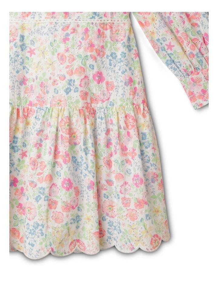 Adelaide Woven Brderie Dress (1-8 Years) image 4