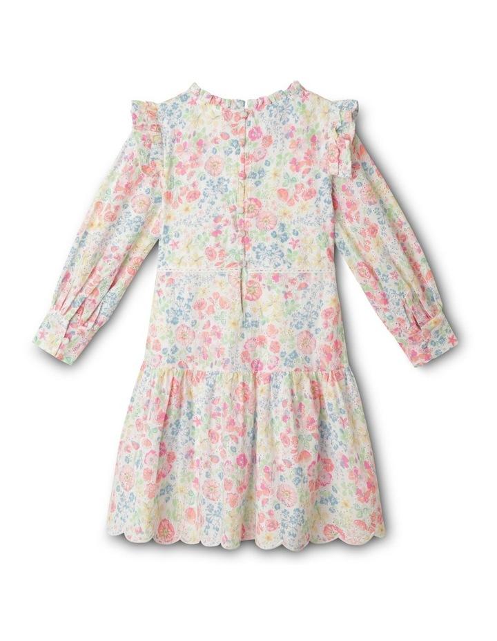 Adelaide Woven Brderie Dress (1-8 Years) image 5