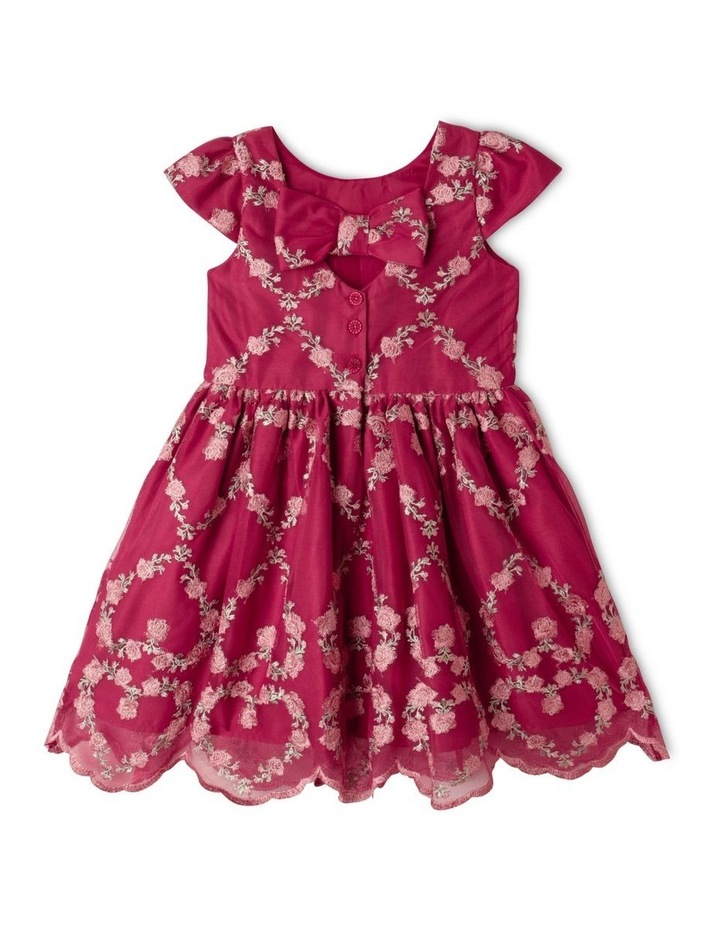 Isabella Mesh Party Dress (1-8 Years) image 5