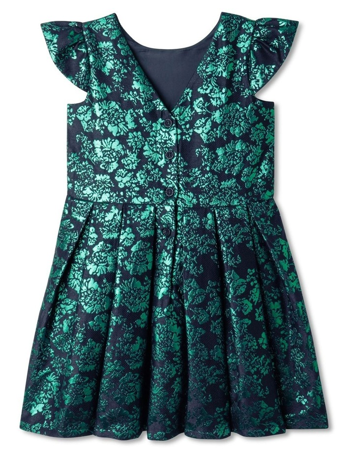Willow Cap Sleeve Jacquard Dress (1-8 Years) image 5