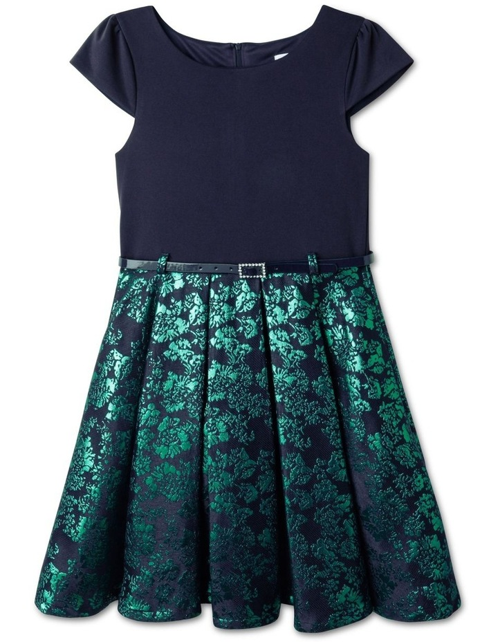 Penny Jacquard Skirt Dress (9-16 Years) image 1
