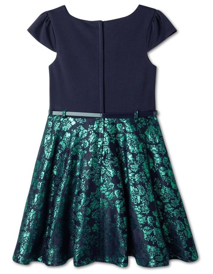 Penny Jacquard Skirt Dress (9-16 Years) image 5