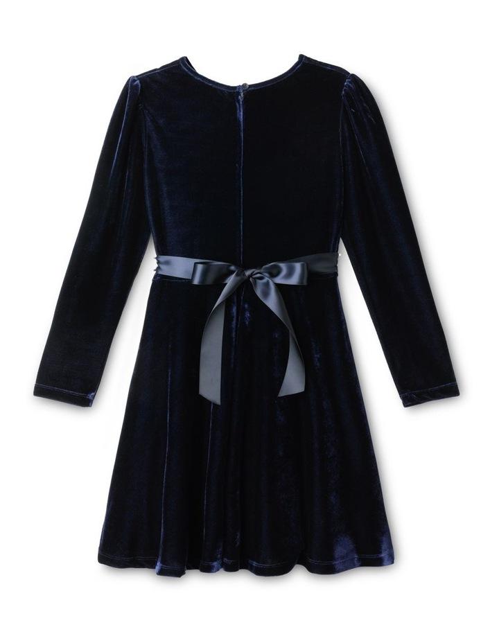Luna Velour Dress (9-16 Years) image 2