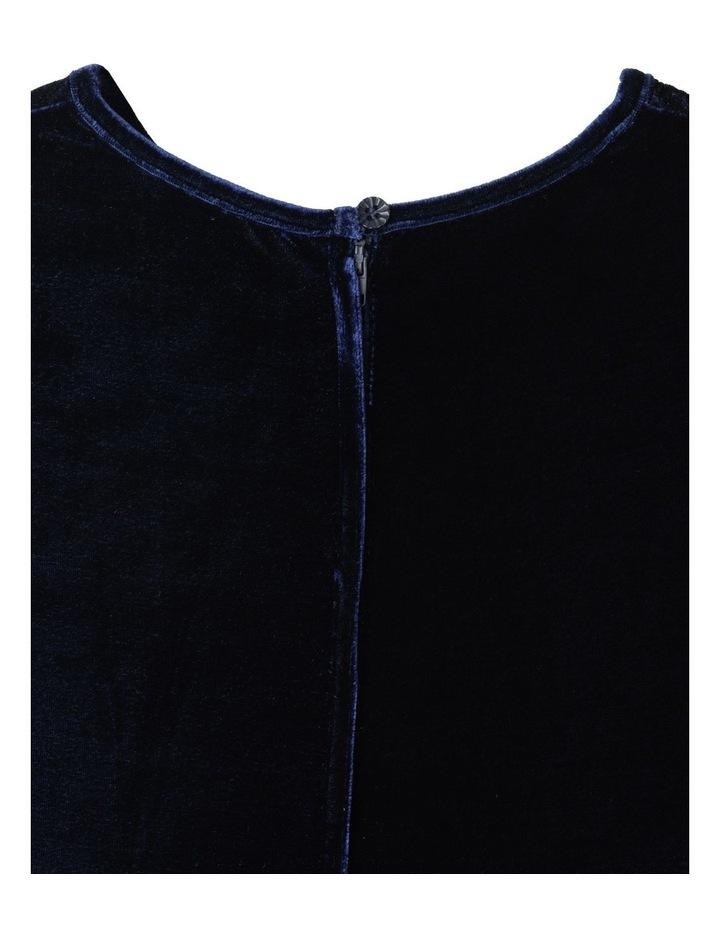 Luna Velour Dress (9-16 Years) image 4