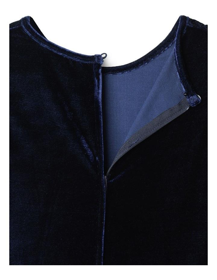Luna Velour Dress (9-16 Years) image 5