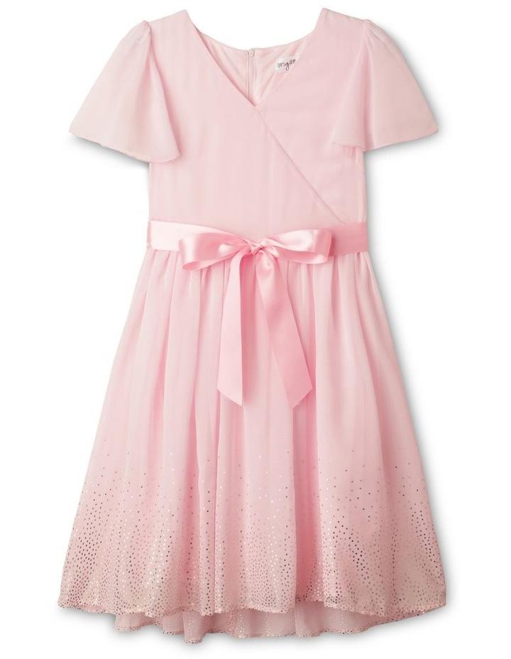Jade Chiffon Dress (9-16 Years) image 1