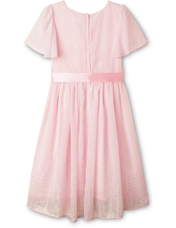 Jade Chiffon Dress (9-16 Years) image 5