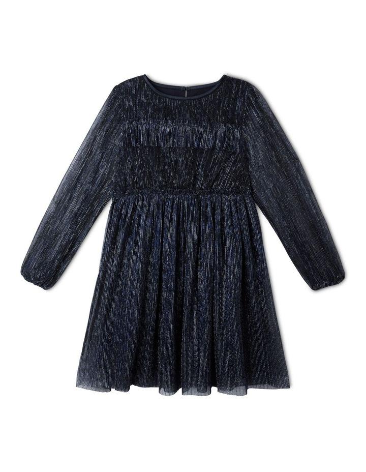 Daisy Shimmer Net Dress (9-16 Years) image 1